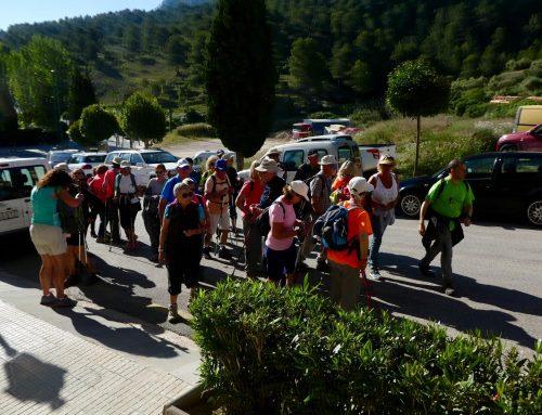 Sortida Tivissa Circular Ermita Sant Blai i coves de Vilella 1 de Juny 2019