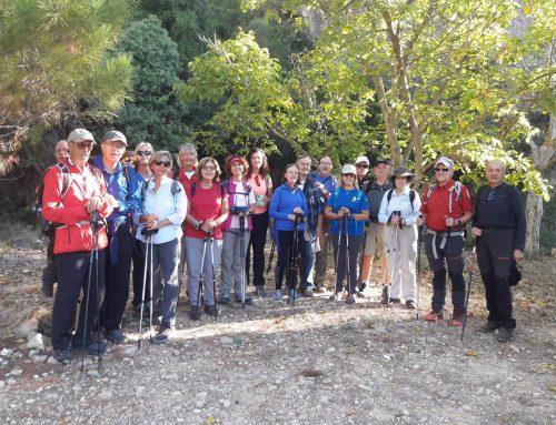 Sortida Morera del Montsant Cabasses (19/10/2019)